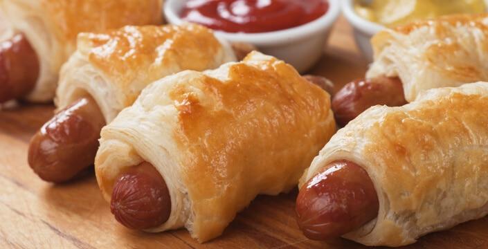 Apéro dînatoire : 9 recettes végétariennes à la saucisse ...